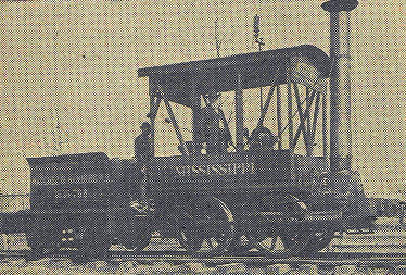 Mississippi Train from Early Years
